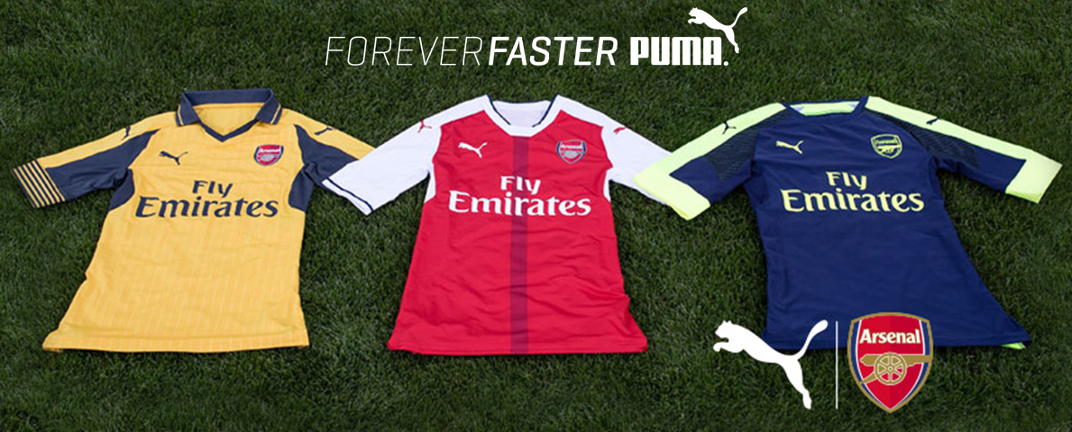 Slide Puma Arsenal